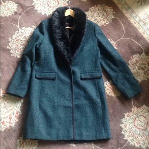 Banana Republic Wool Tweed Jacket, Sz L